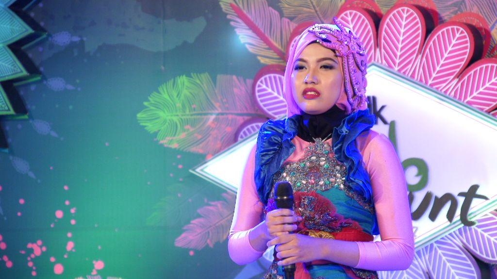 30 Besar Sunsilk Hijab Hunt 2017 Bandung - Nisrina Rahmi Thahira