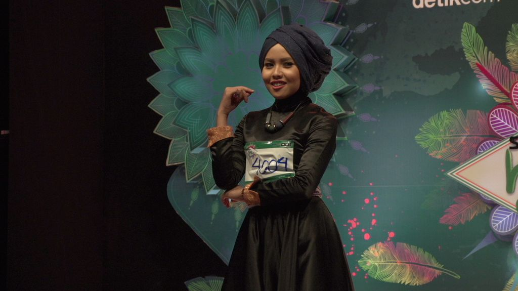 23 Besar Sunsilk Hijab Hunt 2017 Medan -  Ayu Novhia