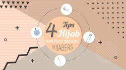 4 Hijab Hacks yang Patut Dicoba