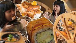 Sushi Zaman Now Kini Disajikan Pakai Bianglala