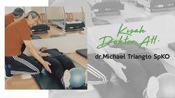 Menarik! Kisah dr. Michael Triangto SpKO yang Jadi Dokter Atlet