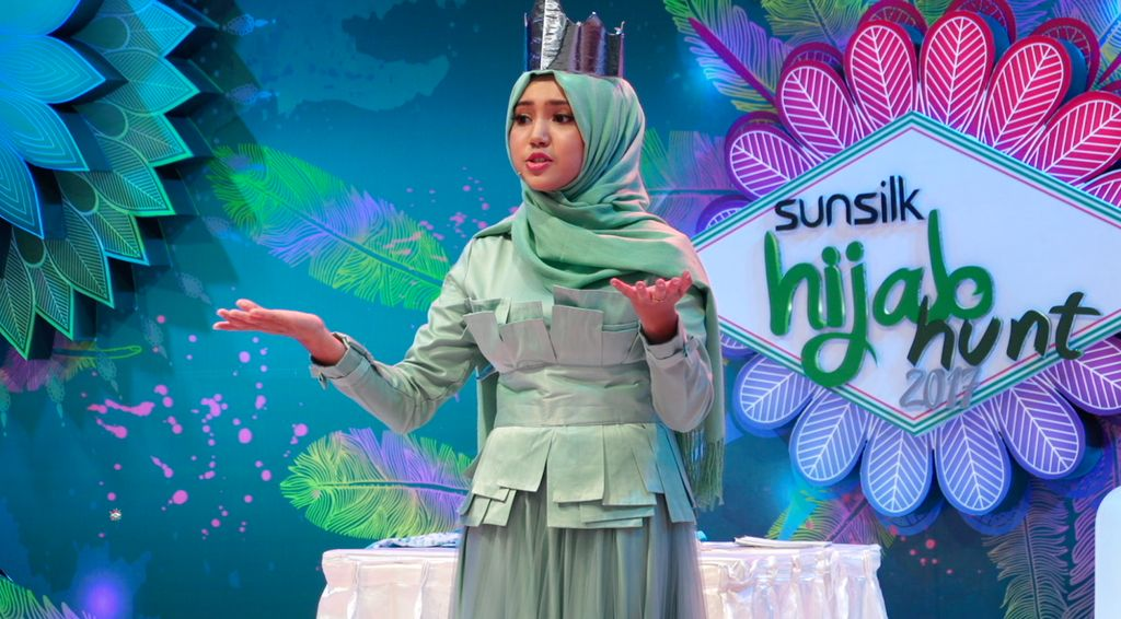 20 Besar Sunsilk Hijab Hunt 2017 Yogyakarta - Fatimah Sania