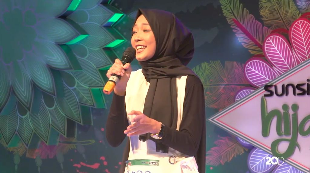 18 Besar Sunsilk Hijab Hunt 2017 Palembang - Nyayu Baita Rahmi