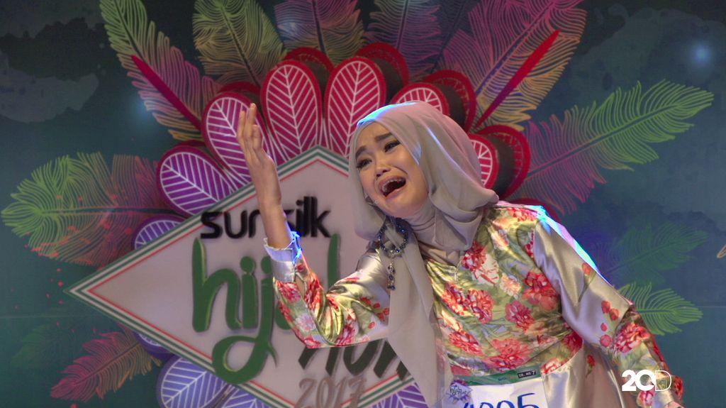 23 Besar Sunsilk Hijab Hunt 2017 Medan -  Lailani Zahra