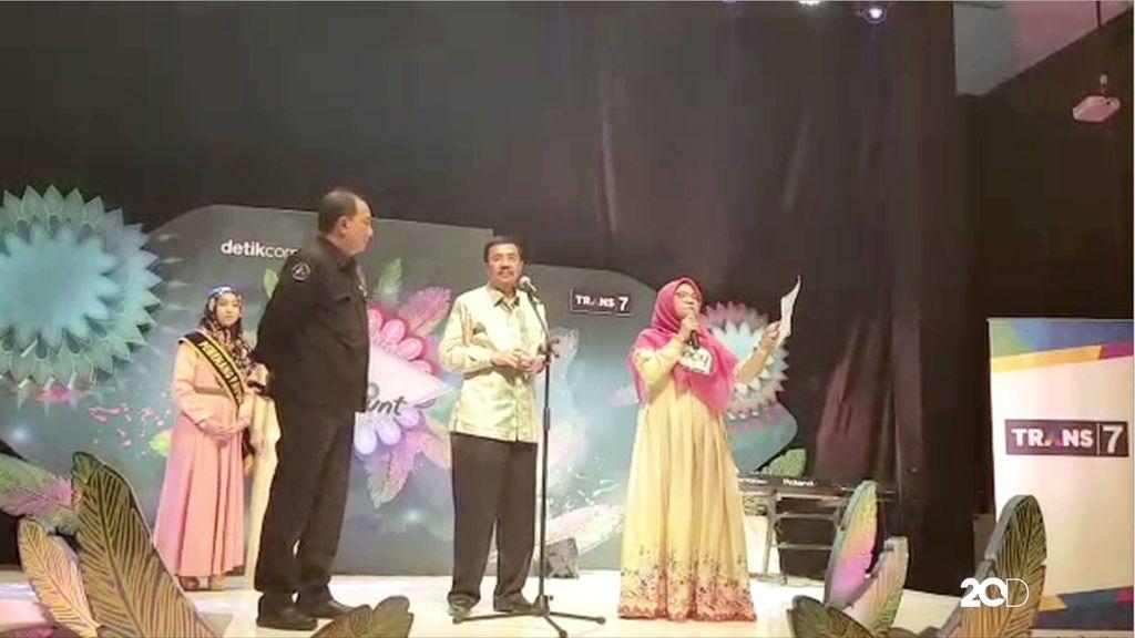 Gubernur Sumatera  Utara Ikut Meriahkan Sunsilk Hijab Hunt 2017 Medan