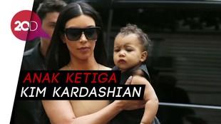 Selamat! Kim Kardashian Dianugerahi Anak Ketiga