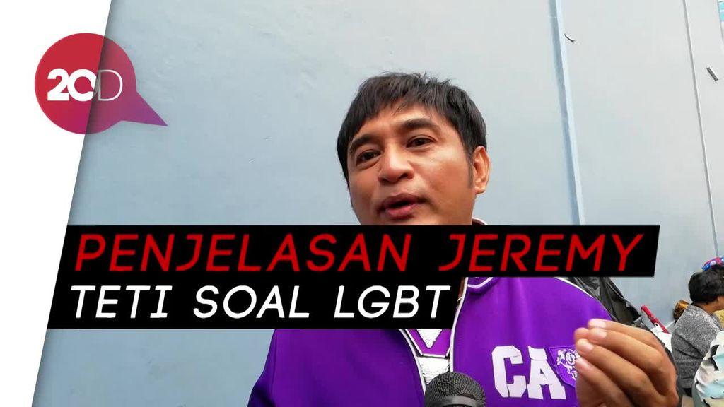 Soal LGBT, Jeremy Teti: Itu Show Televisi