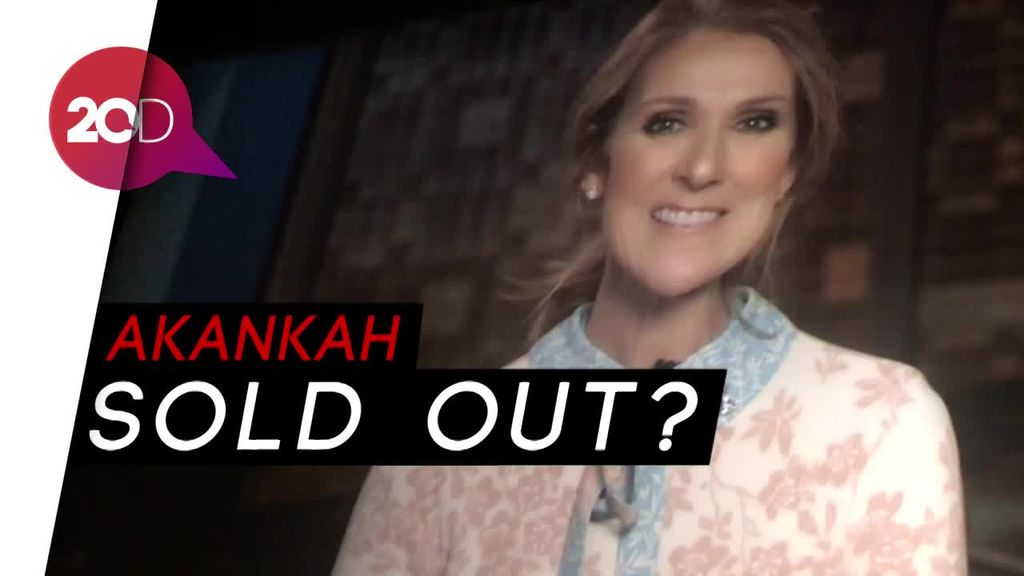 Walau Mahal, Promotor Celine Dion Yakin Tiket Akan Sold Out