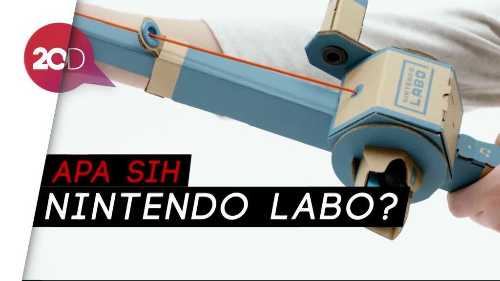 Gokil! Labo, Cardboard Ajaib yang Bikin Nintendo Switch Makin Seru