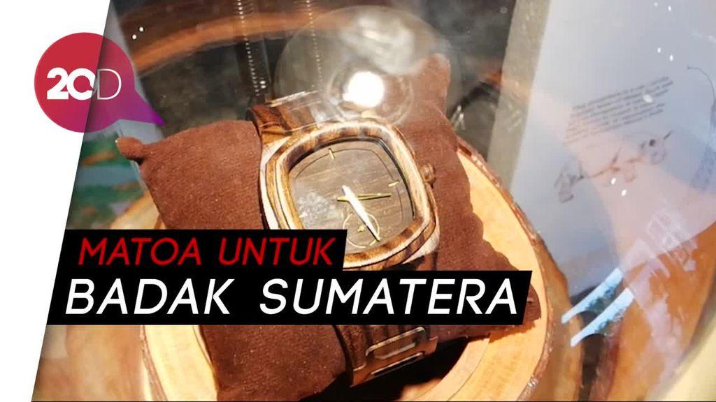 Matoa Indonesia Donasikan Penjualan 30 Jam Tangan Kayu
