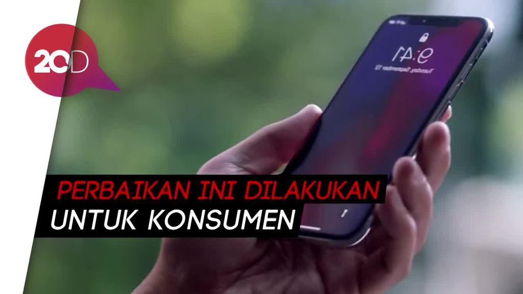 Bos Apple Janjikan Update Kondisi Baterai iPhone Lebih Transparan