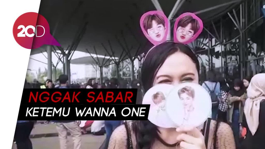 Gaya Unik dan Antusiasme Fans di Wanna One Fanmeeting Jakarta