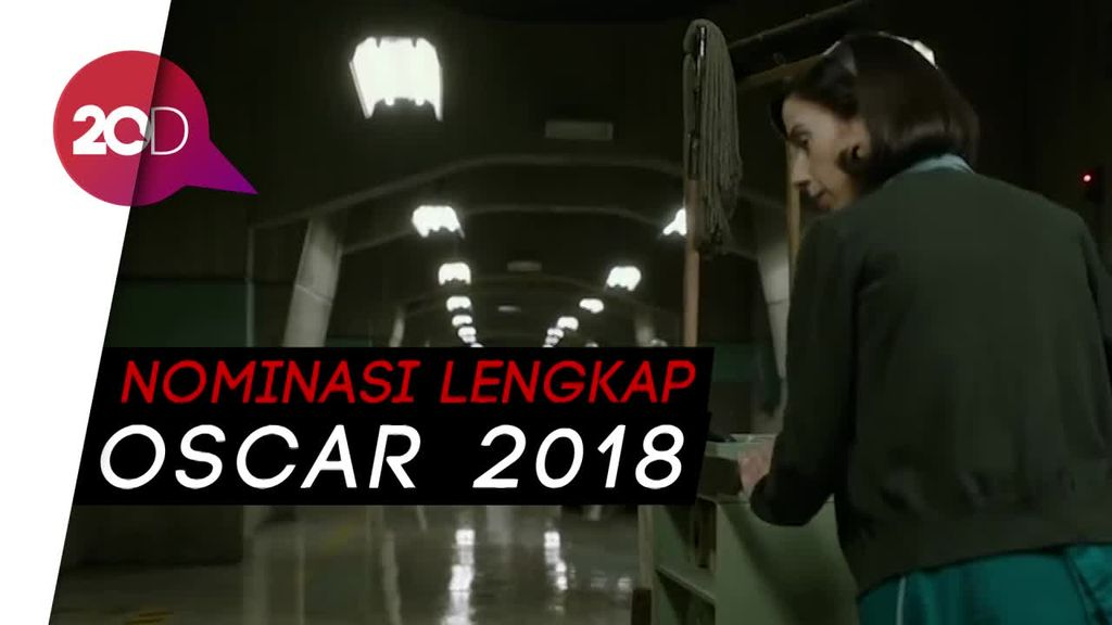 Mendominasi, The Shape of Water Raih 13 Nominasi Oscar 2018