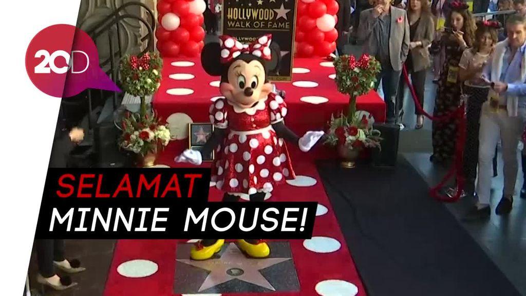 40 Tahun Setelah Mickey, Minnie Mouse Dapat Bintang Hollywood!