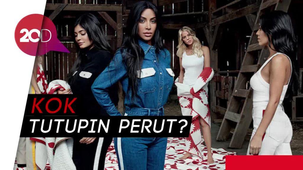 Penampilan Kylie Jenner di Iklan Terbaru Pasca Isu Hamil