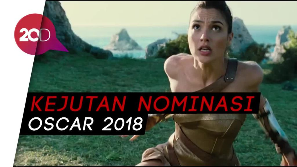 Wonder Woman Terhempas, Get Out Jadi Kejutan Nominasi Oscar 2018