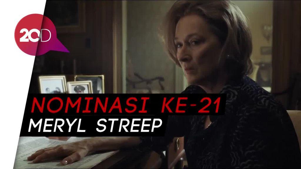 Masuk Nominasi Oscar Lagi, Meryl Streep Pecahkan Rekornya Sendiri