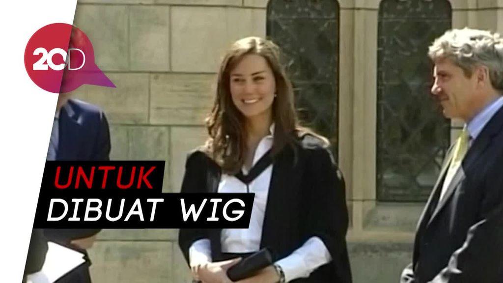 Kate Middleton Donasikan Rambut untuk Bantu Pengidap Kanker