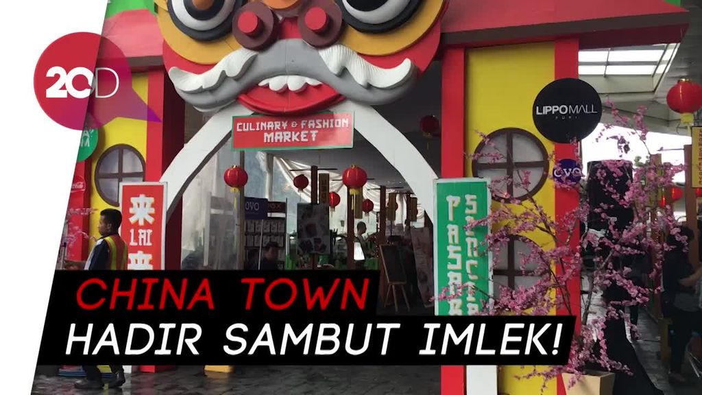 China Town Hadir Sambut Imlek!