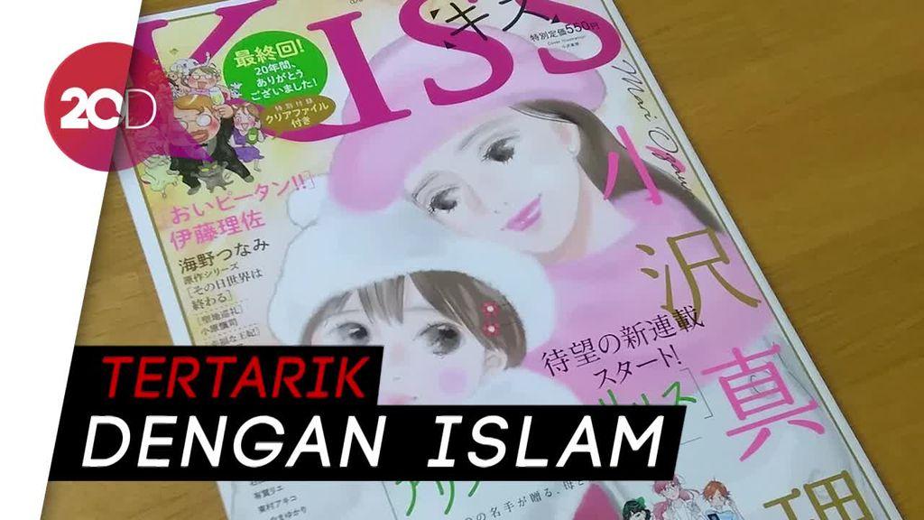 Wah! Ada Tokoh Wanita Berhijab Indonesia dalam Komik Jepang