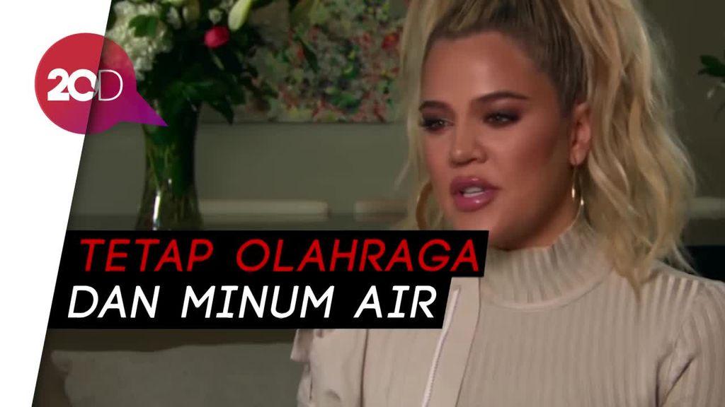 Tips Jaga Badan Proporsional saat Hamil ala Khloe Kardashian