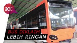 Wow! Armada Baru Bus TransJakarta Pakai Bahan Aluminium