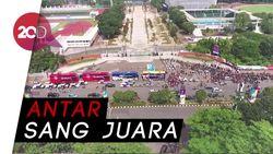 Pawai Kampiun Persija Jakarta