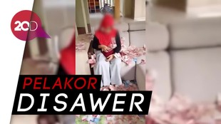 Heboh Video Pelakor Dilempari Uang oleh Istri Sah