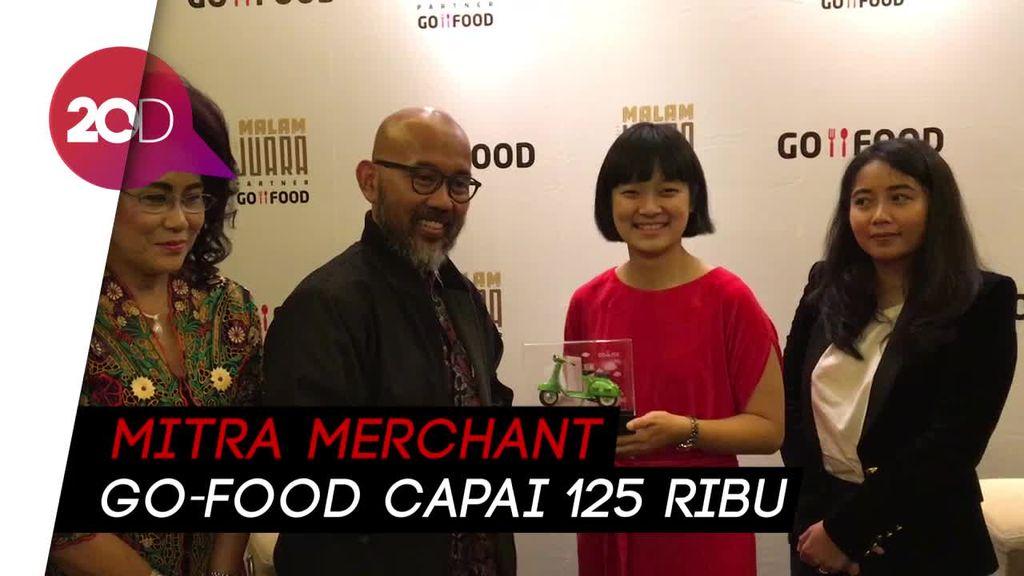 Go-Food Klaim Jadi Salah Satu Kurir Makanan Terbesar Dunia