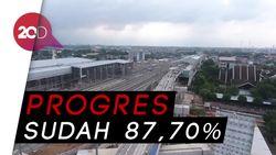 Dari Lensa Drone, Ini Penampakan Terkini Depo MRT Lebak Bulus