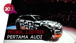 Buat Mobil Listrik, Audi Bertaruh di e-Tron
