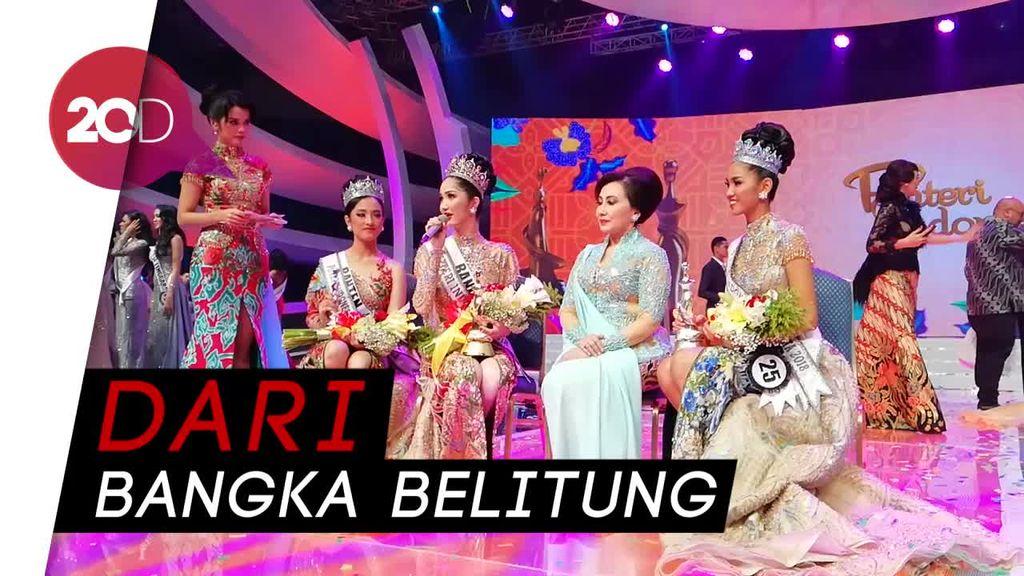 Selamat! Sonia Fergina Juara Puteri Indonesia 2018