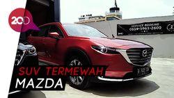 Menjajal SUV Termewah Mazda, Si CX-9