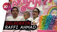 Wow! Ayu Dewi Habiskan Rp 150 Juta Buat Ulang Tahun Anak?