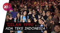 Antusias Teman Tuli Nonton Dilan 1990 dengan Teks Indonesia