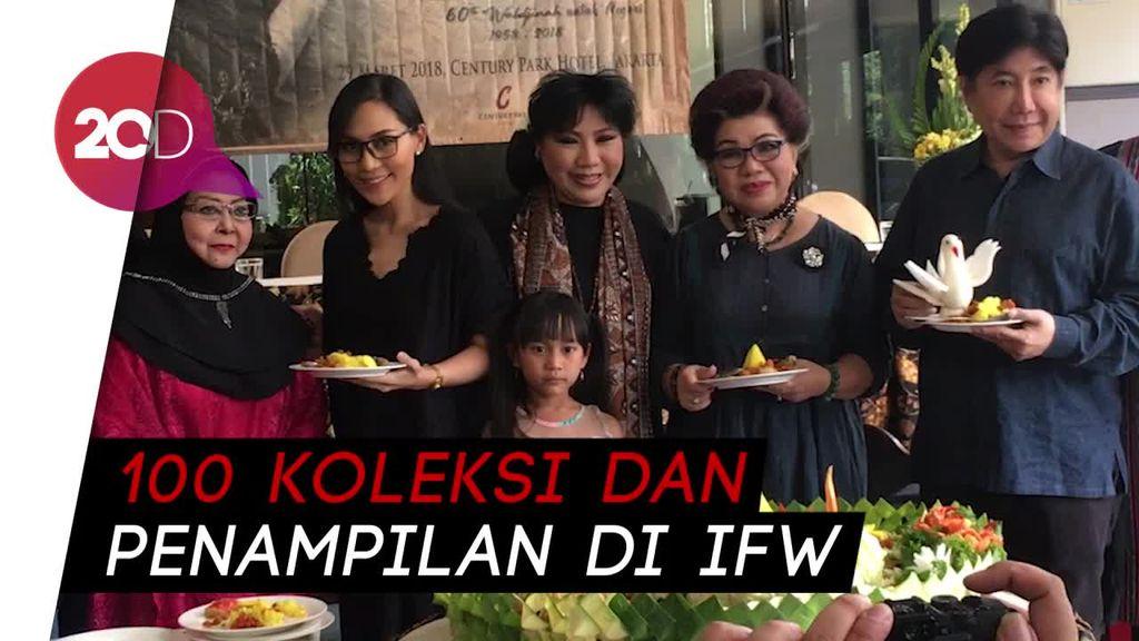 29 Tahun Berkarya, Anne Avantie Siap Rayakan di IFW 2018