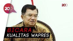 Nasehat Penting JK Bila Mau Dampingi Jokowi di 2019