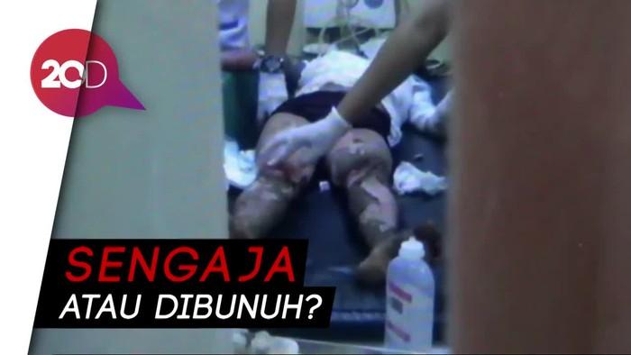 Polisi Olah TKP Ibu dan Balita Terbakar di Ladang Jagung