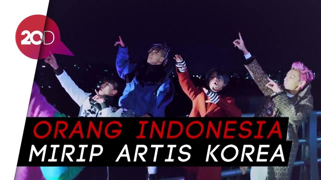 Kembaran Selebriti Korea Bisa Ditemukan di Indonesia!