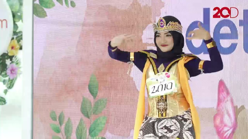 20 Besar Yogyakarta - Annisa Nuraini Rosyidah Persembahkan Tari Lenggasor