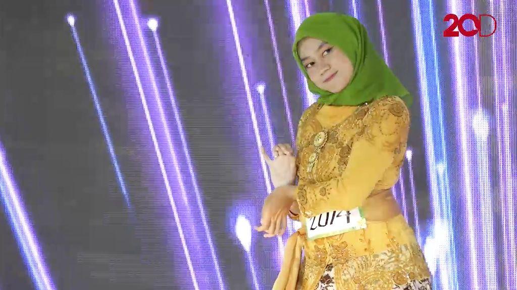 20 Besar Yogyakarta - Meita Safira Bawakan Tari Asmaradana
