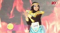 20 Besar Yogyakarta - Cindy Aurel Bawakan Fire Dance
