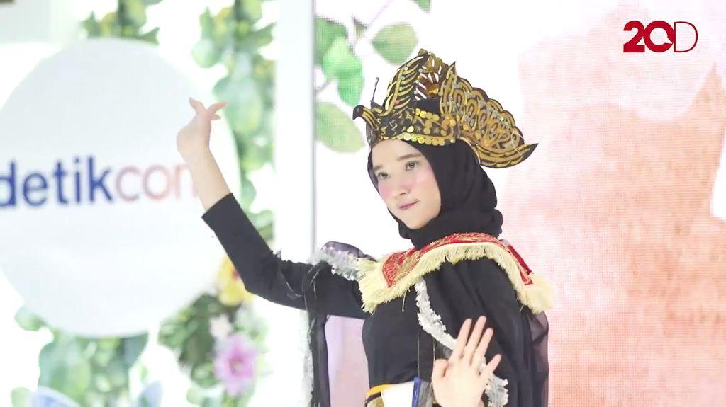 20 Besar Yogyakarta - Kombinasi Tari dan Karate Ala Yeyen Grestiana