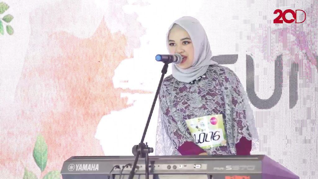 20 Besar Yogyakarta - Nalaria Prakusya Ajak Finalis Lain Bernyanyi