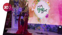 Cantiknya Peserta Hijab Hunt Medan dalam Balutan Ulos