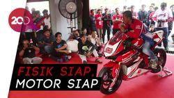 Intip Kesiapan Bikers di Indonesia CBR Race Day 2018