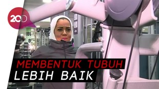 Angkat Beban Jadi Tren Cantik Perempuan Arab Saudi
