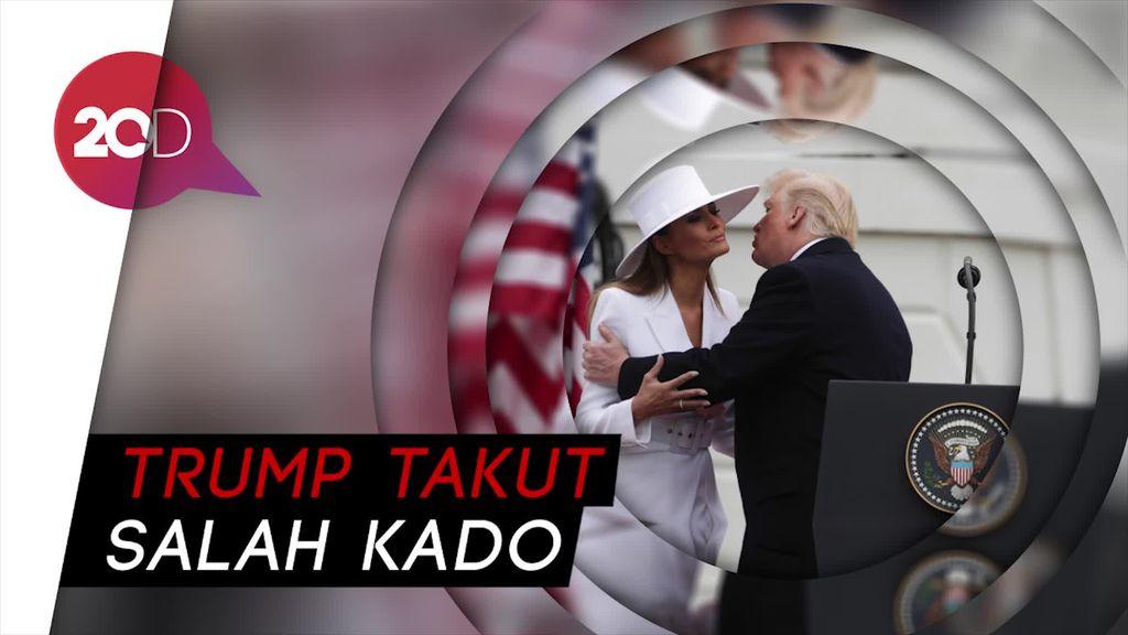 Melania Trump Ultah,  Donald Trump Tak Beri Kado!