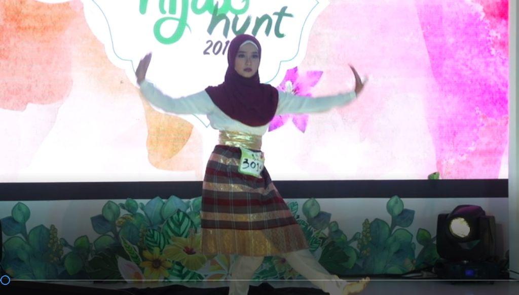 20 Besar Medan-Frintzy Ailin, Muslimah yang memperkenalkan Tari Aceh