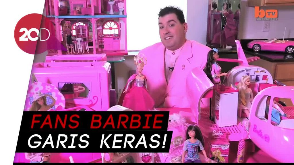 Barbie Man! Pria Ini Punya Ribuan Boneka Barbie